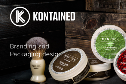 Kontained: Branding and Packaging Design